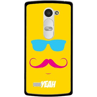 Snooky Printed Yeah Mobile Back Cover For Lg Leon - Yellow