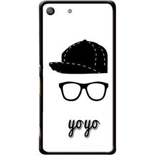 Snooky Printed Yo Yo Mobile Back Cover For Sony Xperia M5 - Multicolour