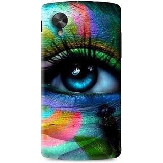 Snooky Printed Designer Eye Mobile Back Cover For Lg G5 - Multi