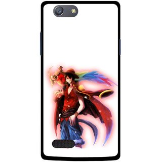 Snooky Printed Free Mind Mobile Back Cover For Oppo Neo 7 - Multicolour