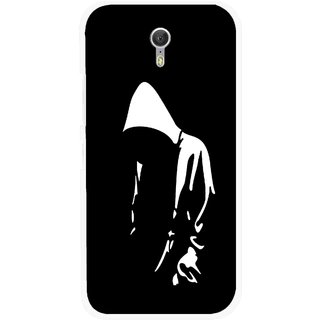 Snooky Printed Thinking Man Mobile Back Cover For Lenovo Zuk Z1 - Black