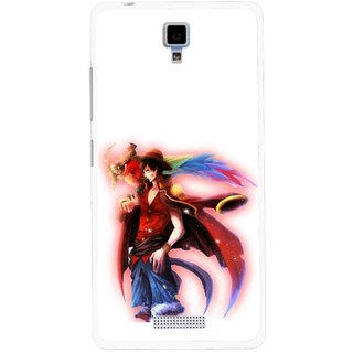 Snooky Printed Free Mind Mobile Back Cover For Gionee Pioneer P4 - Multicolour