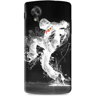 Snooky Printed Dance Mania Mobile Back Cover For Lg G5 - Multi