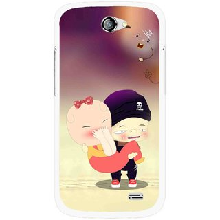 Snooky Printed Friendship Mobile Back Cover For Gionee Pioneer P2 - Multicolour