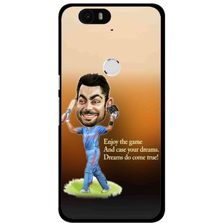 Snooky Printed True Dream Mobile Back Cover For Huawei Nexus 6P - Multi