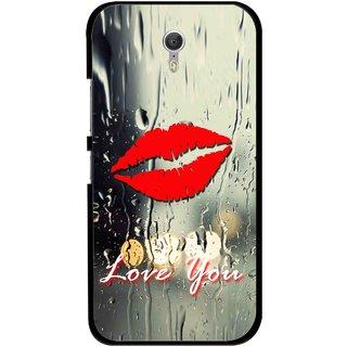 Snooky Printed Love You Mobile Back Cover For Lenovo Zuk Z1 - Multicolour