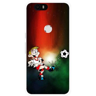 Snooky Printed My Passion Mobile Back Cover For Huawei Nexus 6P - Multi