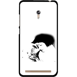 Snooky Printed Pet Lover Mobile Back Cover For Asus Zenfone 6 - Multicolour