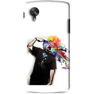 Snooky Printed Shooting Joker Mobile Back Cover For Lg G5 - Multi