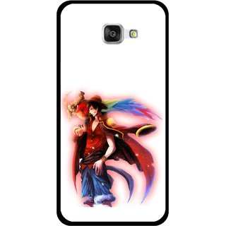 Snooky Printed Free Mind Mobile Back Cover For Samsung Galaxy A7 2016 - Multicolour
