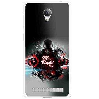 Snooky Printed Mr.Right Mobile Back Cover For Vivo Y28 - Multicolour