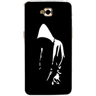 Snooky Printed Thinking Man Mobile Back Cover For Lg G Pro Lite - Black