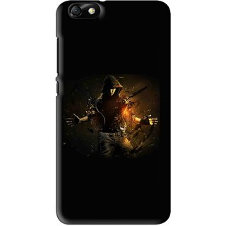Snooky Printed Dancing Boy Mobile Back Cover For Huawei Honor 4X - Multi