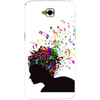 Snooky Printed Music Lover Mobile Back Cover For Lg G Pro Lite - White