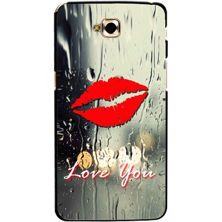 Snooky Printed Love You Mobile Back Cover For Lg G Pro Lite - Multicolour