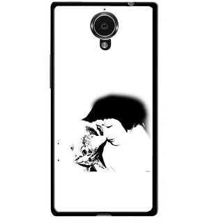 Snooky Printed Pet Lover Mobile Back Cover For Gionee Elife E7 - Multicolour