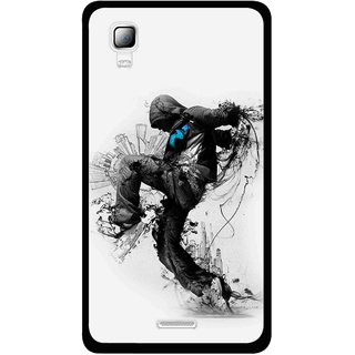 differently b652e 9e002 Snooky Printed Enjoying Life Mobile Back Cover For Micromax Canvas Doodle 3  A102 - White