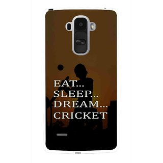 Snooky Printed All Is Cricket Mobile Back Cover For Lg G4 Stylus - Multi