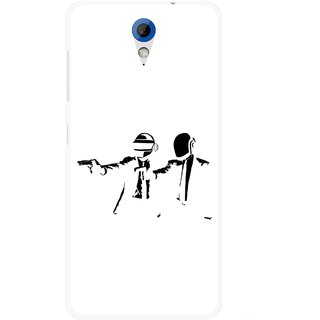 Snooky Printed Gangster Mobile Back Cover For HTC Desire 620 - Multicolour