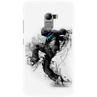 Snooky Printed Enjoying Life Mobile Back Cover For Lenovo K4 Note - White