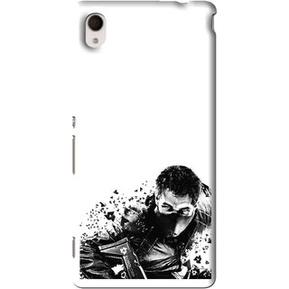 Snooky Printed Commando Mobile Back Cover For Sony Xperia M4 - Multi