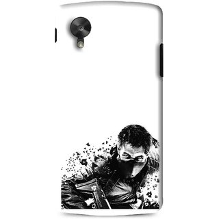 Snooky Printed Commando Mobile Back Cover For Lg G5 - Multi