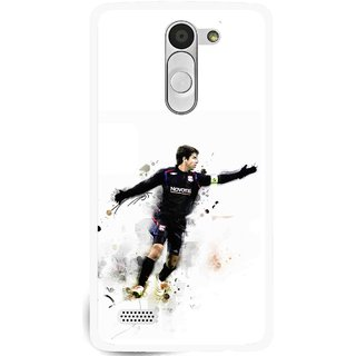 Snooky Printed Pass Me Mobile Back Cover For Lg L Bello - White