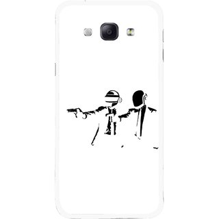 Snooky Printed Gangster Mobile Back Cover For Samsung Galaxy A8 - Multicolour