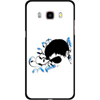 Snooky Printed Stylo Man Mobile Back Cover For Samsung Galaxy J7 (2016) - Multicolour