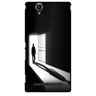 Snooky Printed Night Out Mobile Back Cover For Sony Xperia T2 Ultra - Multicolour