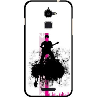 Snooky Printed Music In Air Mobile Back Cover For Coolpad Note 3 Lite - Multi