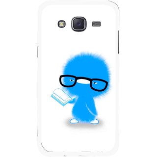 Snooky Printed My Teacher Mobile Back Cover For Samsung Galaxy J5 - White