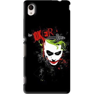 Snooky Printed The Joker Mobile Back Cover For Sony Xperia M4 - Multi