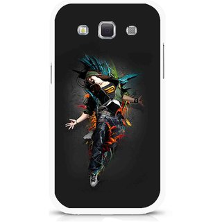 Snooky Printed Music Mania Mobile Back Cover For Samsung Galaxy 8552 - Multicolour