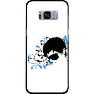 Snooky Printed Stylo Man Mobile Back Cover For Samsung Galaxy S8 Plus - Multicolour