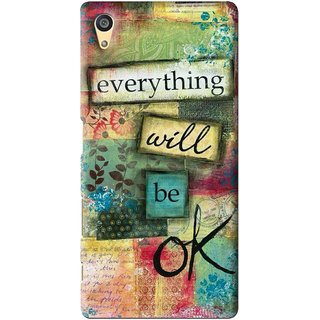 Snooky Printed Will Ok Mobile Back Cover For Sony Xperia Z5 - Multi
