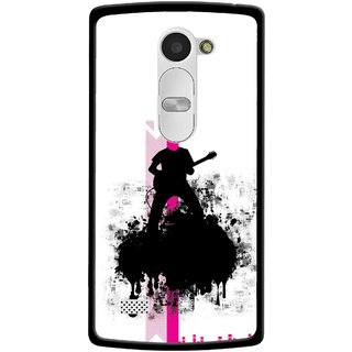 Snooky Printed Music In Air Mobile Back Cover For Lg Leon - Multi