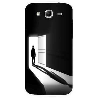 Snooky Printed Night Out Mobile Back Cover For Samsung Galaxy Mega 5.8 - Multicolour