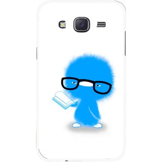 Snooky Printed My Teacher Mobile Back Cover For Samsung Galaxy J7 - White