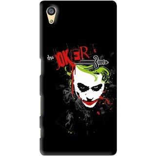 Snooky Printed The Joker Mobile Back Cover For Sony Xperia Z5 - Multi