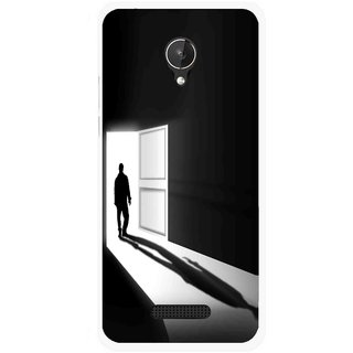 Snooky Printed Night Out Mobile Back Cover For Micromax Canvas Spark Q380 - Multicolour