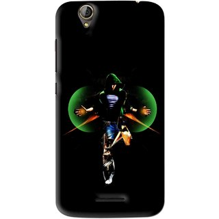 Snooky Printed Hero Mobile Back Cover For Acer Liquid Z630S - Multi