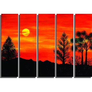 PPD Wall Painting   Split Frames Paintings Home Decor Framed Paintings For  Living Room/Bedroom