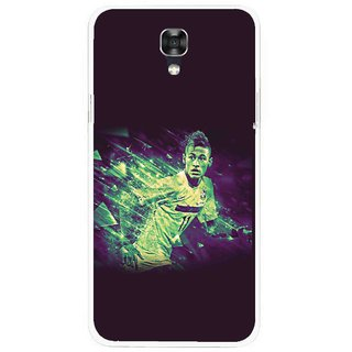 Snooky Printed Running Boy Mobile Back Cover For Lg X Screen - Multicolour