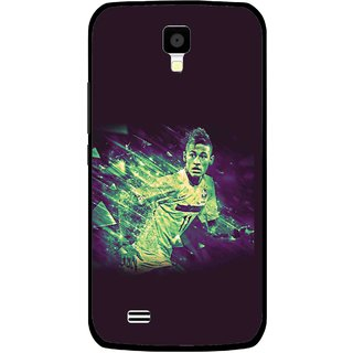 Snooky Printed Running Boy Mobile Back Cover For Gionee Pioneer P2S - Multicolour