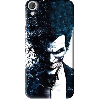 Snooky Printed Freaking Joker Mobile Back Cover For HTC Desire 820 - Multi