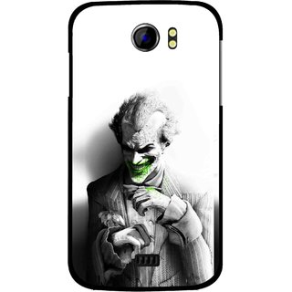Snooky Printed Wilian Mobile Back Cover For Micromax Canvas 2 A110 - White
