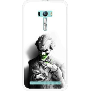 Snooky Printed Wilian Mobile Back Cover For Asus Zenfone Selfie - White