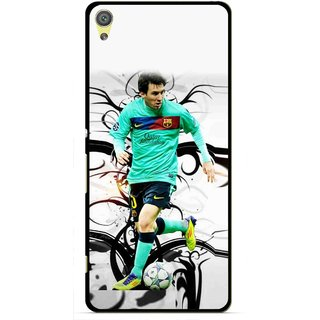 Snooky Printed Football Champion Mobile Back Cover For Sony Xperia XA - Multicolour
