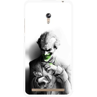 Snooky Printed Wilian Mobile Back Cover For Asus Zenfone 6 - White